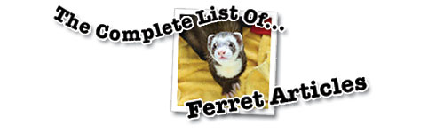 Complete List of Ferret Articles